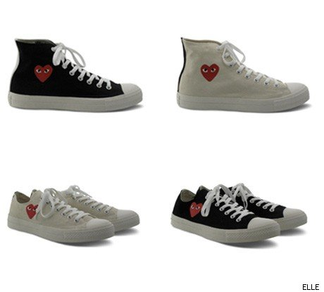 Converse Teams with Comme des Garons
