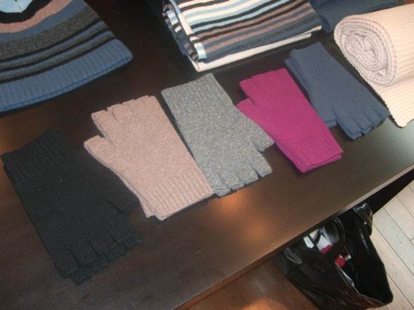 Fingerless gloves in an array of colors