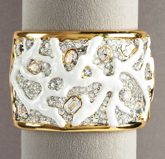 Kenneth Jay Lane Branch Cuff  ($550)