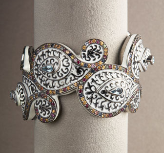 Matthew Campbell Laurenza Scroll Cuff  ($2,020)