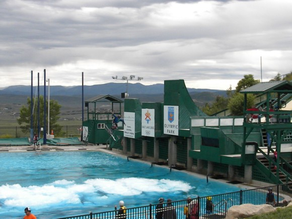 Froth Pool = Softer Landing for Freestyle Jumps at Utah Olympic Park