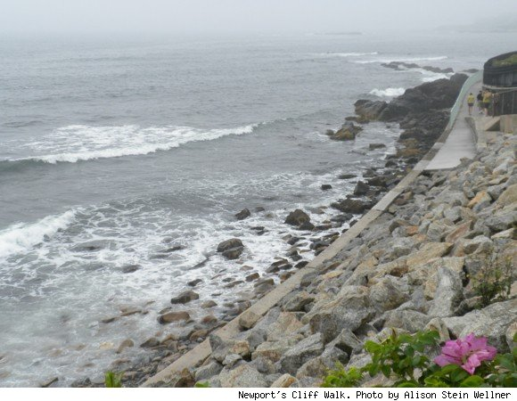 photo of Newport's Cliff Walk 