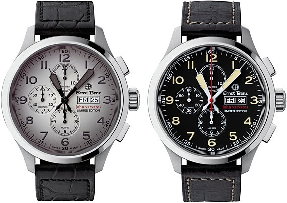 Ernst Benz Chronoscope Limited Edition Watch for John Varvatos