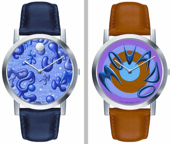 Movado Artists' Series Limited Edition Kenny Scharf Watches