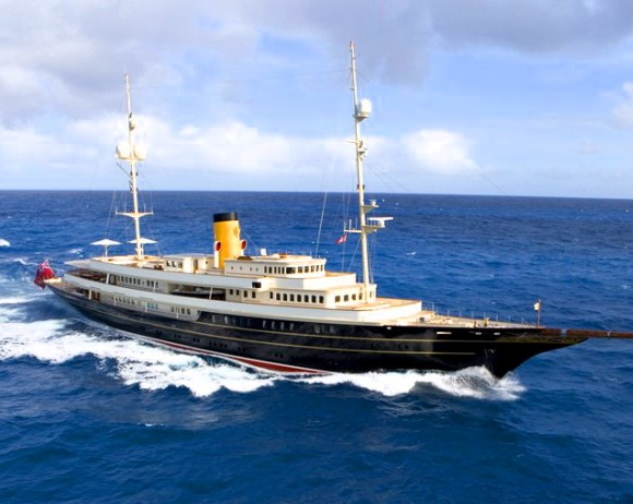 The Classicist: Cruise like J.P. Morgan in the Corsair Nero for $105 Million: Luxist.com