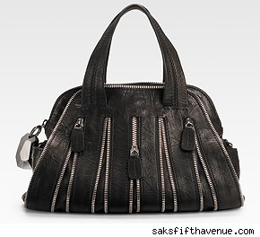 Small Zipper Satchel