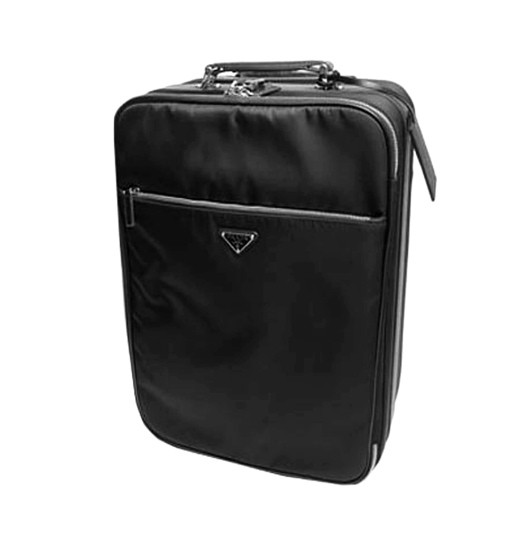 Prada Nylon and Leather Trolley Case