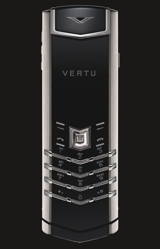 Vertu Signature in Stainless Steel