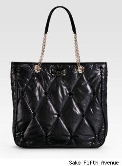Kate Spade Coney Island Quilted Lilia Tote