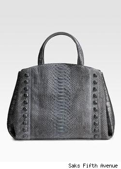 Nancy Gonzalez Python/Crocodile Tote