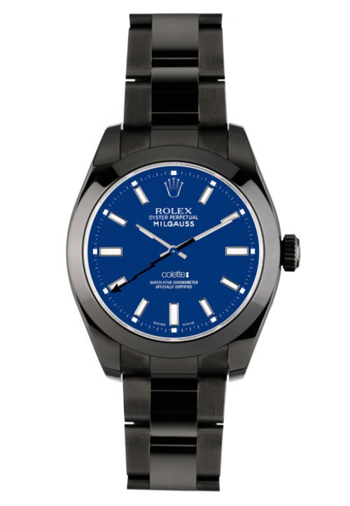 bamford &amp; sons rolex milgauss watch
