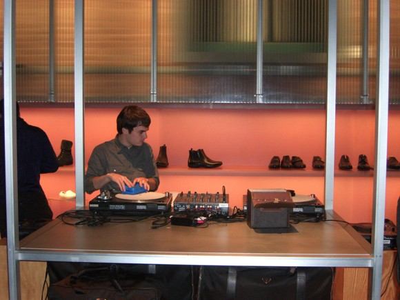 DJ at Prada