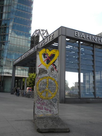 Past Meets Present at Potsdamer Platz in Berlin