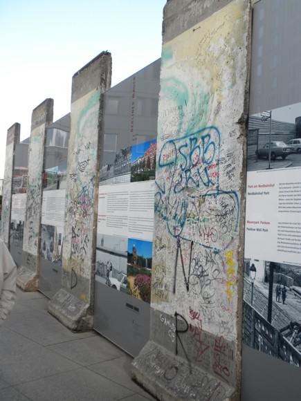 Potsdamer Platz Berlin Wall Memorial