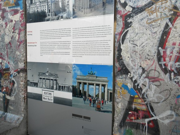 Important Scenes in Berlin Wall History at Potsdamer Platz