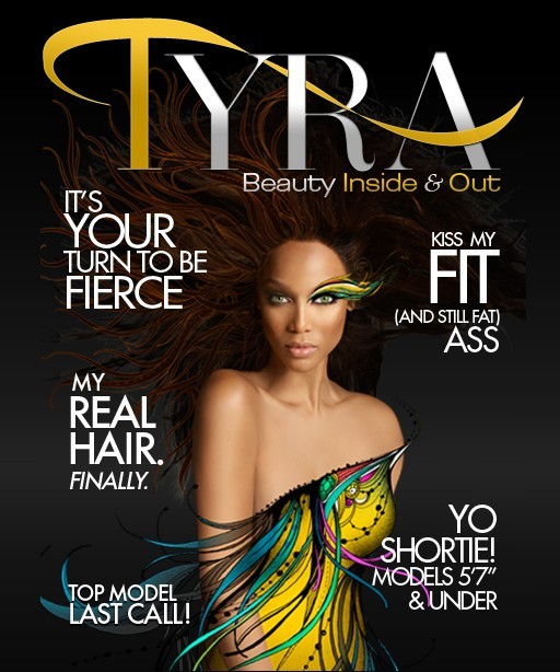 Tyra Banks Launches Online Fashion Magazine
