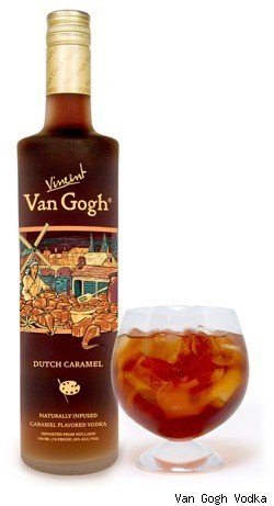 Vincent Van Gogh Dutch Caramel Vodka. Delish.