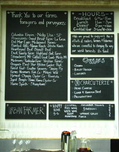 Urban Farmer - Local Purveyor Board