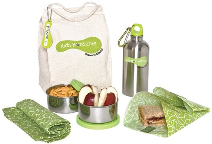 Kids Konserve Safe and Snazzy Lunch Kit