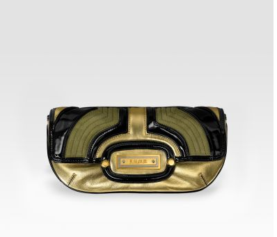 l.a.m.b. deco fisher clutch