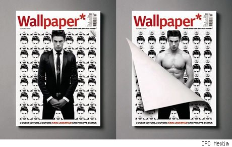 Lagerfeld, Starck Design Covers for <I>Wallpaper*</I> Magazine
