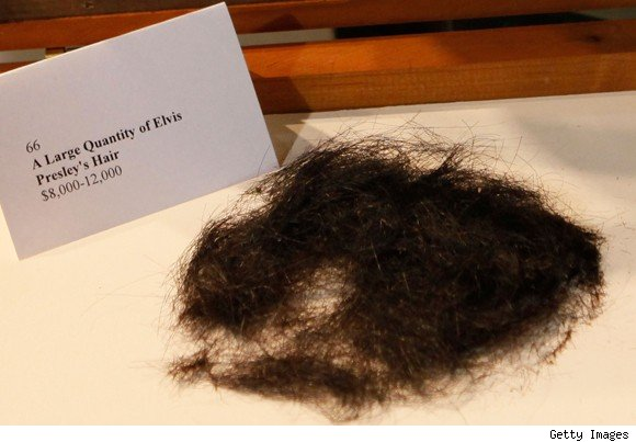 Elvis Presley's Hair
