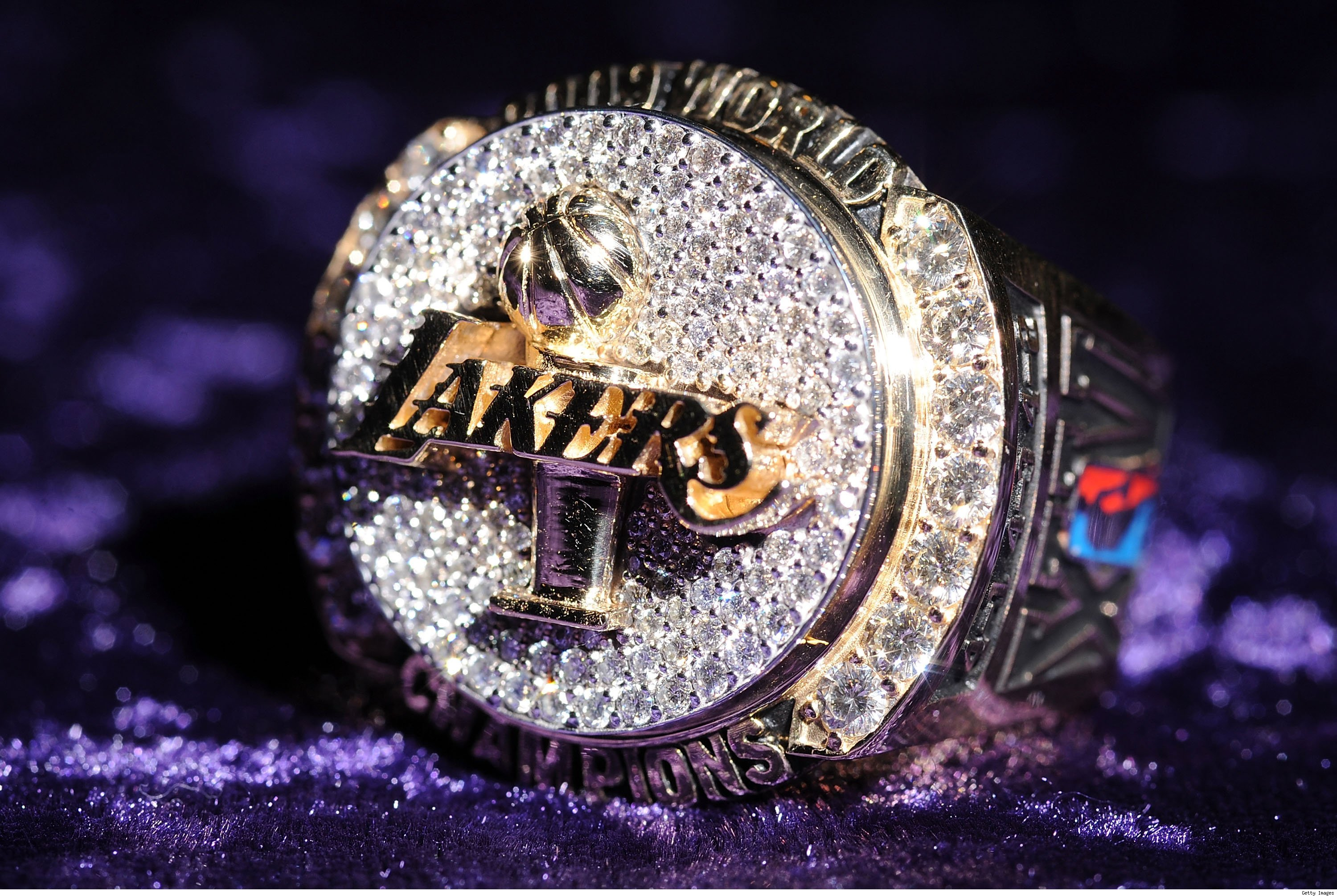 Lakers Ring Front