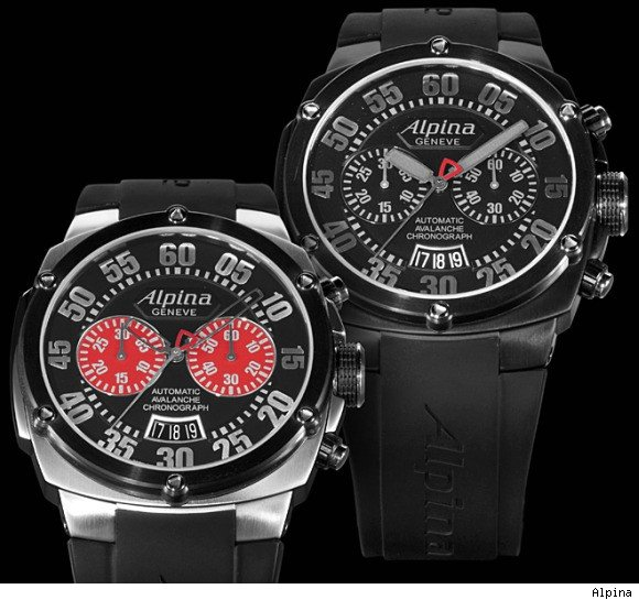 Alpina Avalanche Extreme Chrono Double Digit Watch