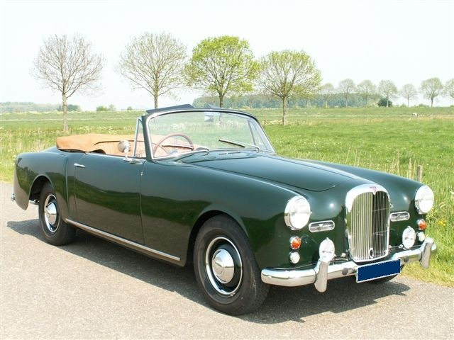 Classic British-Made Alvis Convertible
