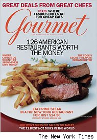 Cond Nast Closing Down &lt;I&gt;Gourmet, Cookie, Modern Bride&lt;/I&gt; and &lt;I&gt;Elegant Bride&lt;/I&gt;