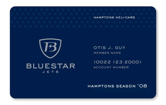 Blue Star Jets Hamptons-Heli Card