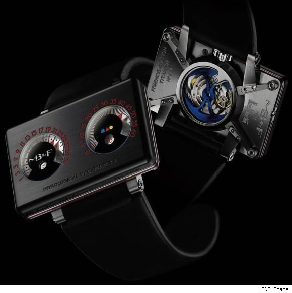 MB&amp;F HM2.2 Black Box Alain Silberstein watch