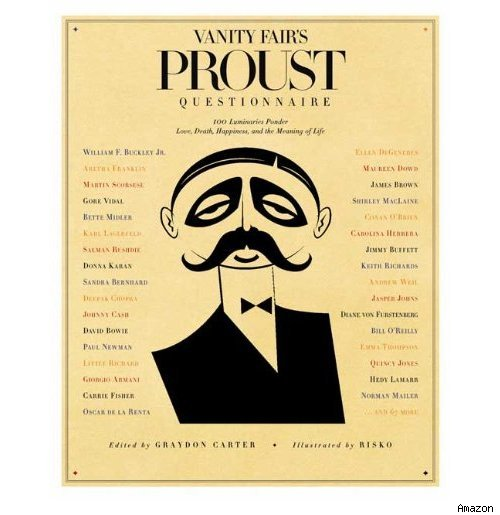 <I>Vanity Fair</I>'s Proust Questionnaires Compiled in New