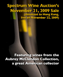 spectrum wine auction