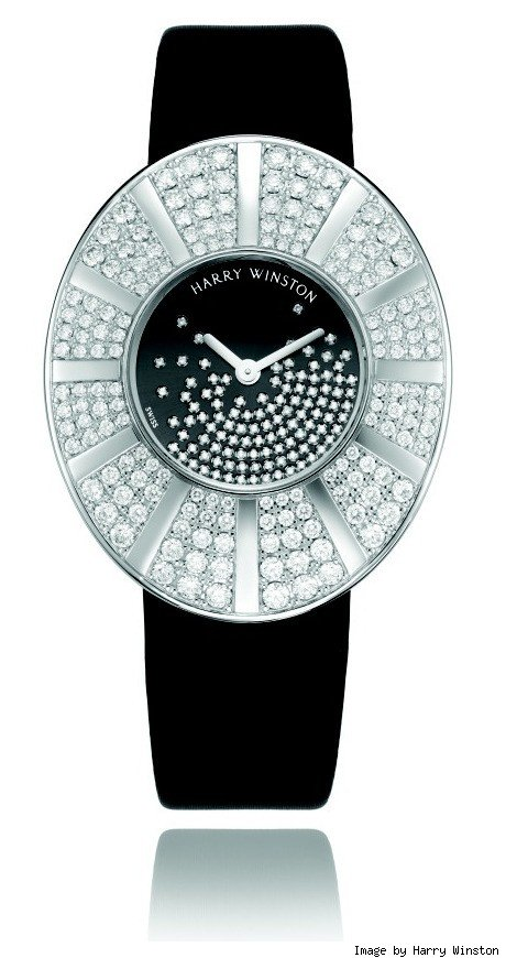 talk to me harry winston snowflakes watch