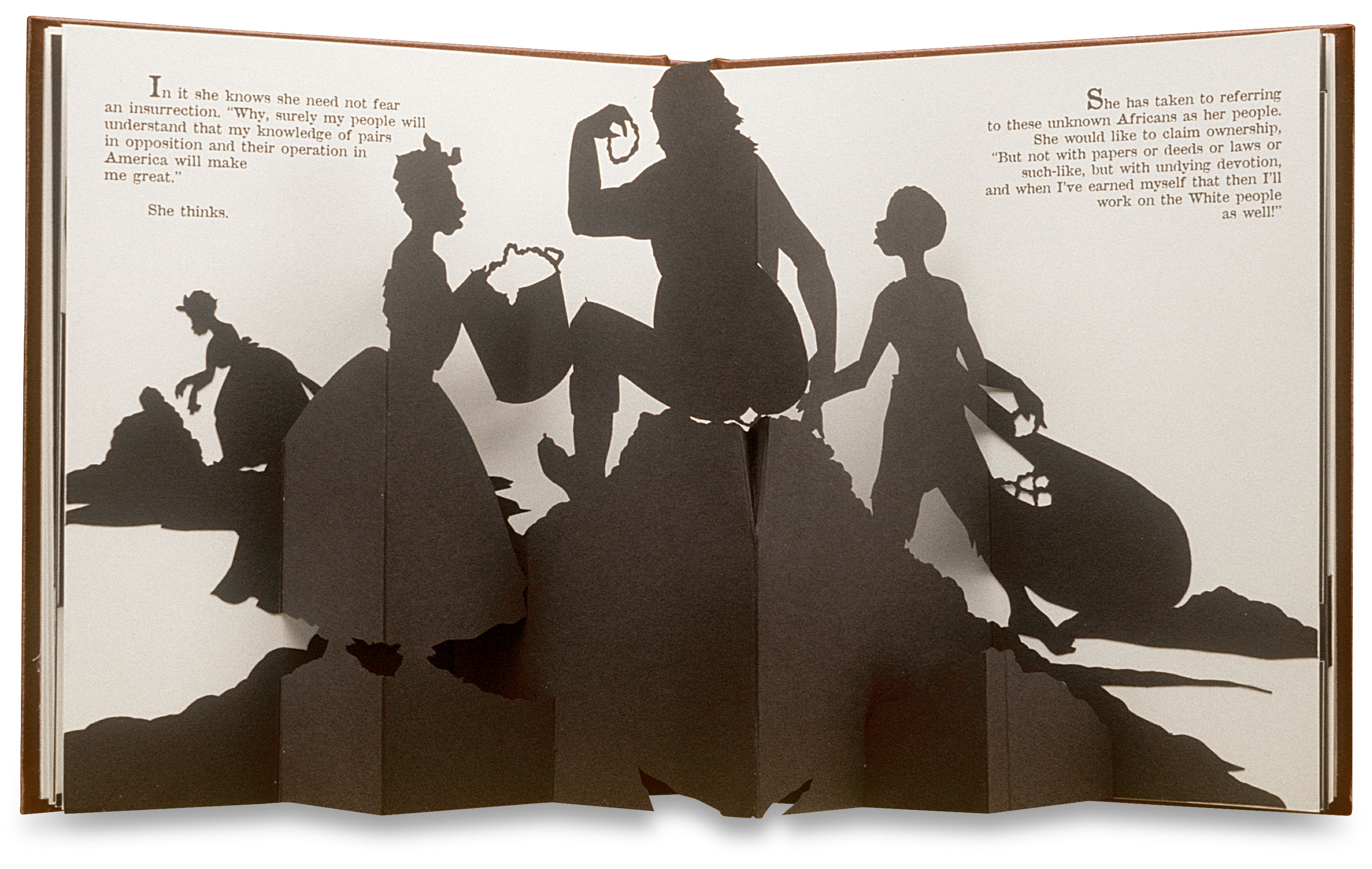 Freedom, a Fable: A Curious Interpretation of the Wit of a Negress in Troubled Times, Kara Walker, 1997