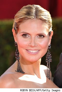 Your Victoria's Secret hostess, Heidi Klum