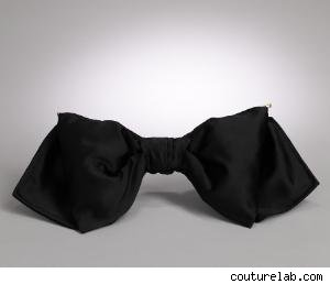 Alexis Mabille for CoutureLab Black Tie Clutch
