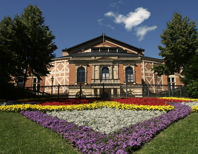 A seat at Bayreuth Festspielhaus for the Wagner Festival