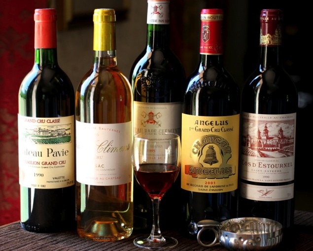 St Emillion, Pomerol or Medoc wine