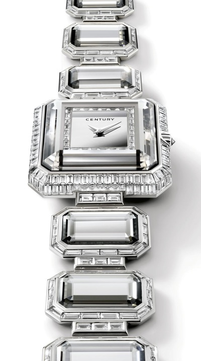 century grace diamond and sapphire watch
