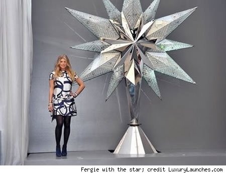 9½-Foot Swarovski Star To Adorn Rockefeller Center Christmas Tree