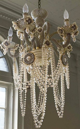 Erickson Beamon Glam Rock Chandelier