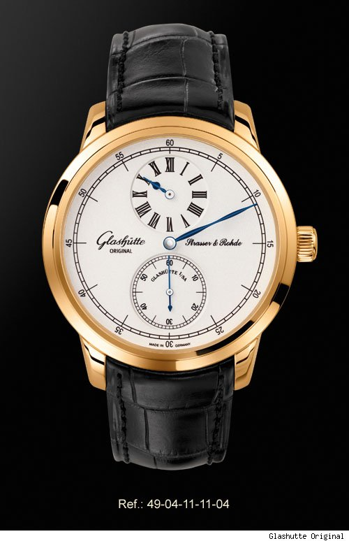 Glashütte Original Strasser & Rohde Regulator Watch