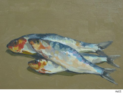 Sardines, David Kratz at Eden Rock Gallery