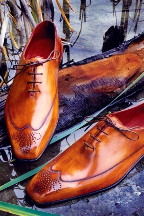 Handmade shoes by Berluti of Italy
