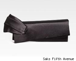 Christian Louboutin Satin Clutch