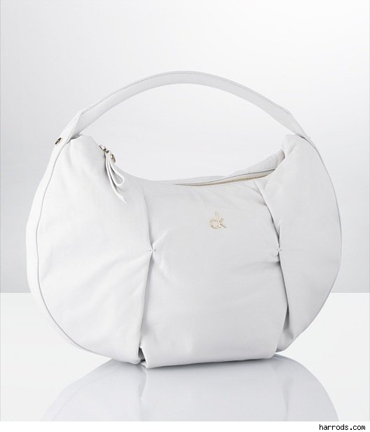 White bag by Calvin Klein
