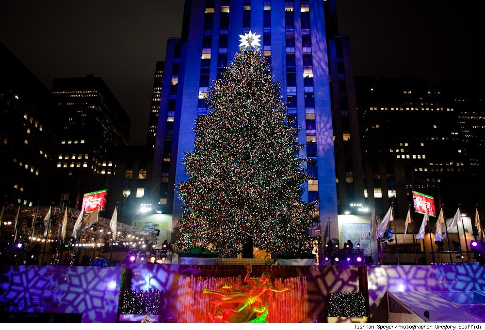 Rockefeller Center Tree, 2009