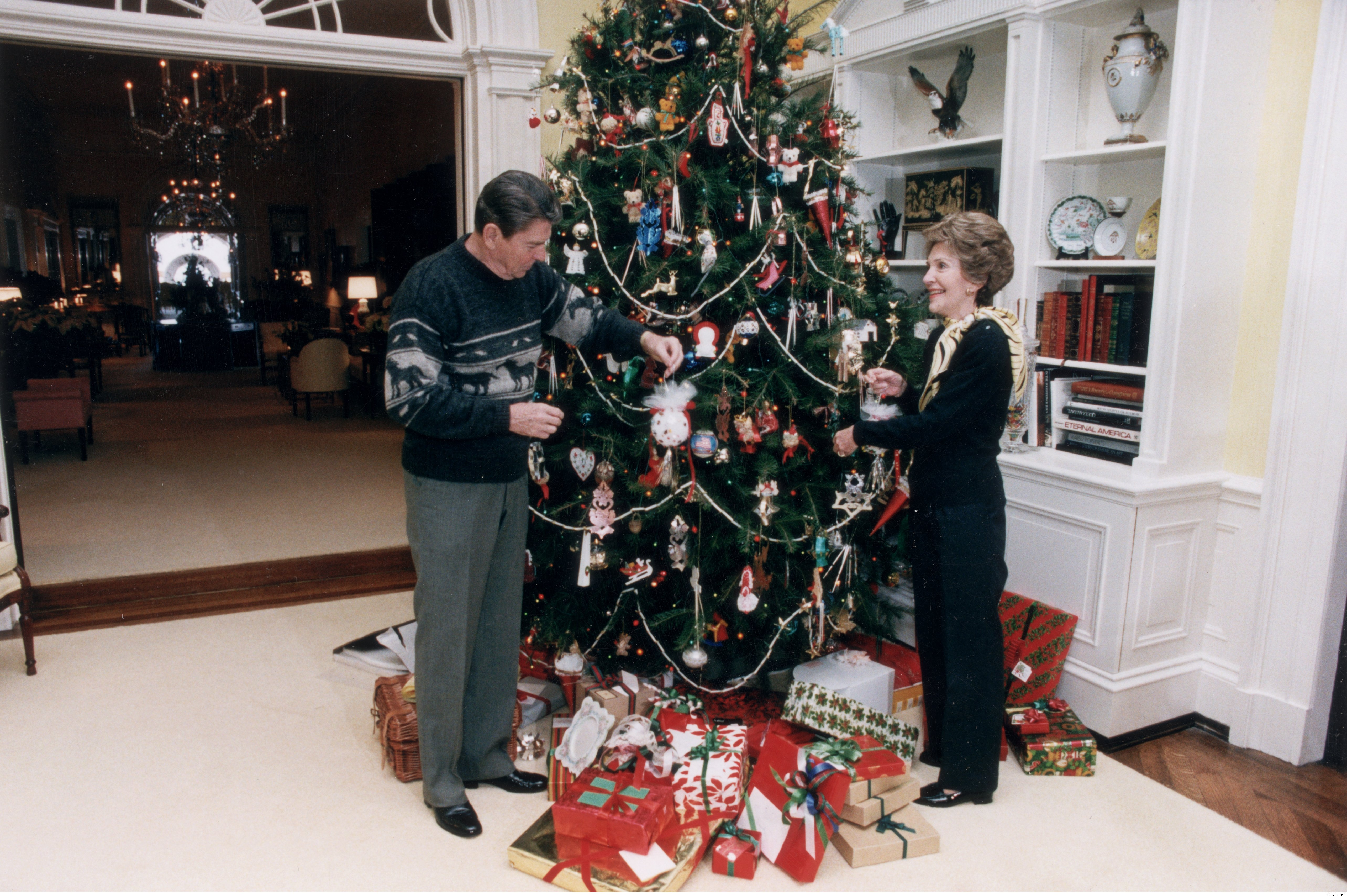 The Regan White House Christmas Tree